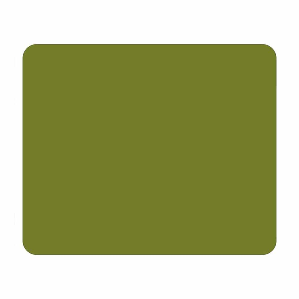 Solid Color Mouse Pad - Computer Business School Desk Supplies - Office or Home Decor Stationery Gift (Olive)