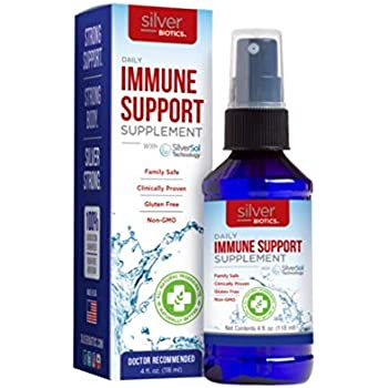 American Biotech Labs Silver Biotics Ultimate Immune System Support, 4 Fluid Ounce