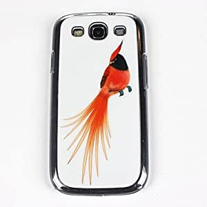 WQQ Teléfono Móvil Samsung - Cobertor Posterior - Gráfico/Diseño Especial/Transparente - para Samsung S3 I9300 ( Multi-color , Plástico )