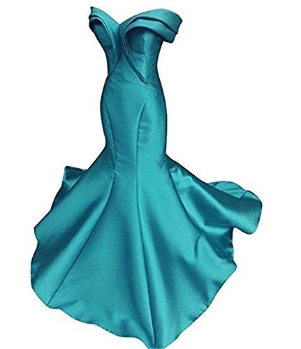 Drehouse Mancherons Les Plis Des Femmes Sirène Longues Robes De Bal Robes De Soirée 2018 Bleu Marine