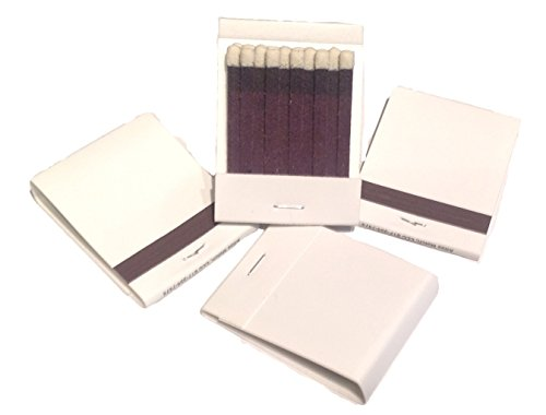 50 Plain White Matches Matchbooks Wedding, Birthday etc (Matchbook Match)
