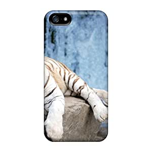 Tpu Case For Iphone 5/5s With Yawning Tiger