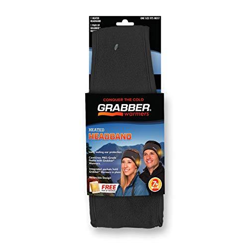 Grabber GBGHB Heated Headband, Gray