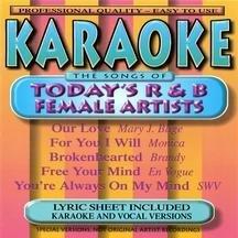 Karaoke: R&B Female Artists 1 (Female Artists Cd)