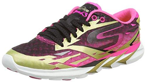 gold De Dorado Meb pink Skechersgo Gold Speed Running 3 Zapatillas Mujer wxfSqSFzI