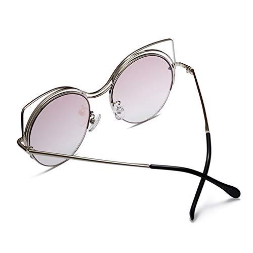 el de de para ULTRAVIOLETA del polarizaron gafas gato protección ojo sol de Las de ir que compras de la gafas de conducían moda sol las señoras del metálico las marco mujeres las de uso de accesorios FxtAwS