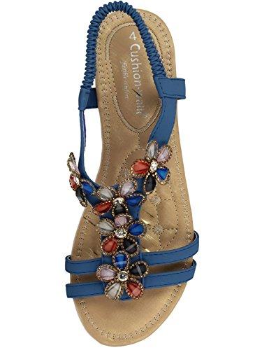 Femme Footwear Pour Foster Bleu Sandales twEtdR
