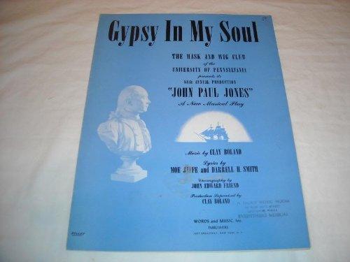 GYPSY IN MY SOUL CLAY BOLAND 1937 SHEET MUSIC SHEET MUSIC 223