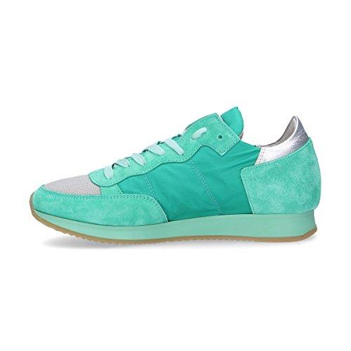 Sneakers Donna Model Trldsr06 Philippe Verde Camoscio P71gAwBvqB