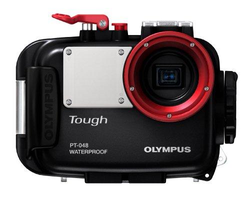 Olympus PT-048 Marine Camera Case - Polycarbonate - Black...
