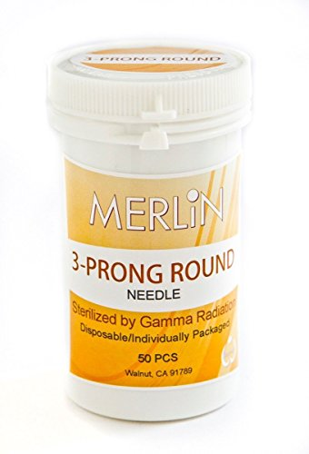 ROUND NEEDLES BioTouch Permanent Makeup 3 Prong Deluxe Merlin Machine Bio Touch by BioTouch (Image #1)