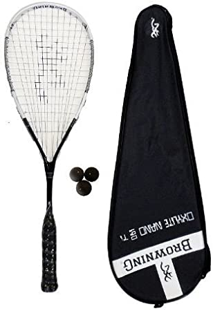 Browning Oxylite 140 Nano Ti - Juego de raqueta de squash y ...