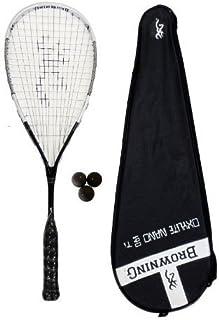 Browning Oxylite 140 Nano Ti Raquette de squash et balles Dunlop