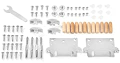 This product contains a full set of replacement parts for King, Queen, or Twin/Double IKEA MALM bed frame. Parts include: x22 EURO SCREW (#110789); x12 SCREW MCX  (#117327); x12 WOOD DOWEL (#101359); x8 SOCKET (#102267); x8 SCREW MRX (#1...