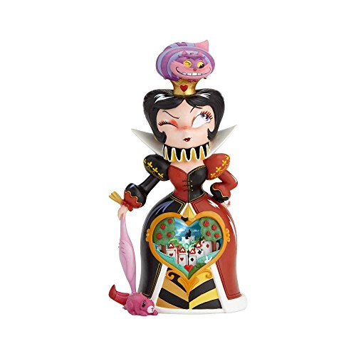 """Enesco World of Miss Mindy Disney """"Alice in Wonderland"""" Queen of Hearts, 10"""