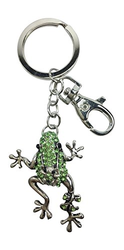 - Kubla Craft Frog Baby Key Chain, 4.5 Inches Long