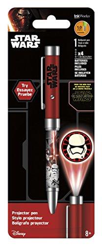 Lightsaber Pen - InkWorks Star Wars The Force Awakens Villains Projector Pen
