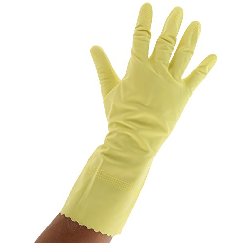 Royal Flocked Lined Gloves, Extra Large, 12 Pair by Royal