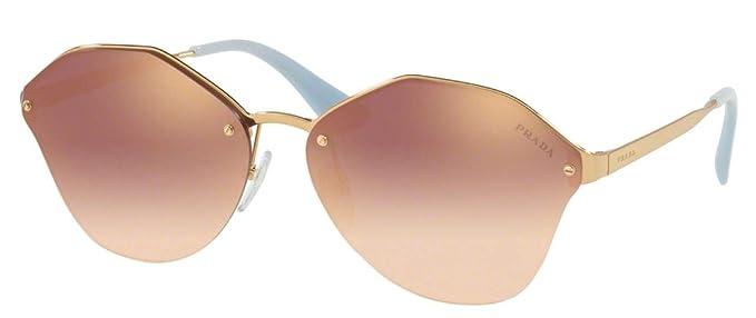b7352c90a Prada Women's PR 64TS Sunglasses 66mm at Amazon Women's Clothing store: