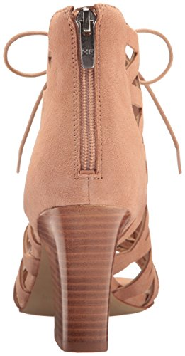Fisher Marc Womens Casual Suede Toe Pink Sandals Round Blair Strappy Blush dwwWT5rq