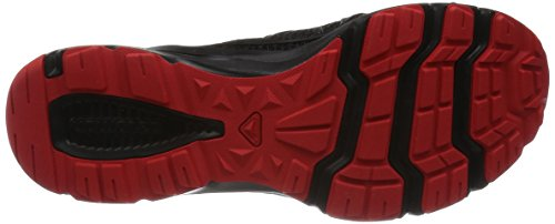 Salomon Crossamphibian, Zapatillas de Trail Running para Hombre Negro (Black/Black/Radiant Red)