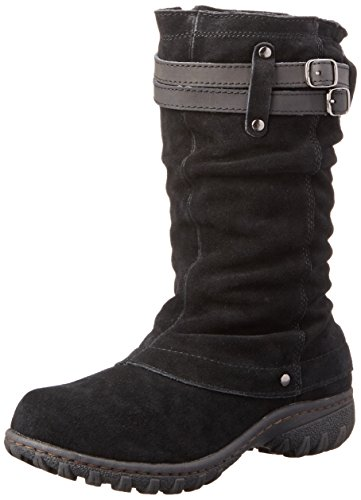 Khombu Women's Mallory Snow Boot, Black, 11 M US