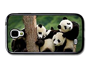 Kingsface AMAF ?? Accessories Adorable Cute Panda Bears Hugging On 3e61yGBw5yO A Tree case cover for Samsung Galaxy S4
