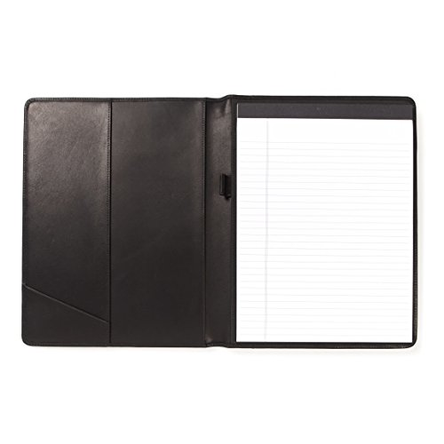 Standard Padfolio - German Leather - Black Oil (black) by Leatherology