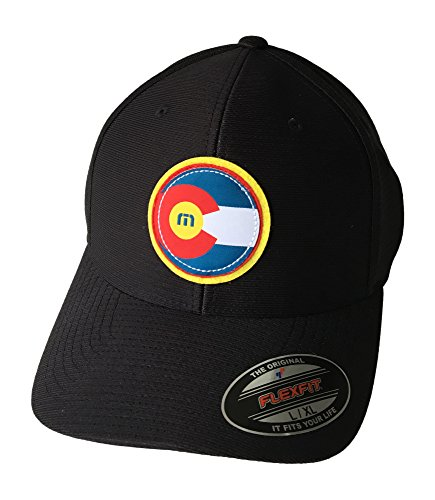 Travis Mathew Colorado Flag Hat The Jo (Black) Large/X-Large