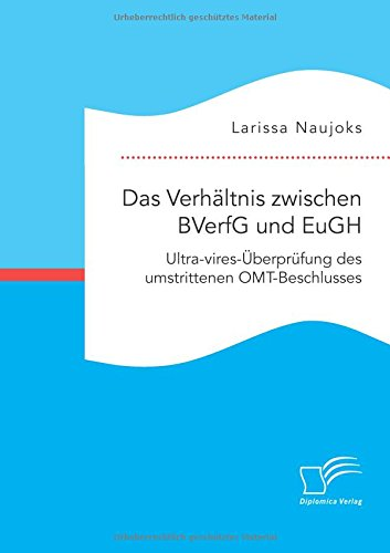 Das Verhältnis zwischen BVerfG und EuGH. Ultra-vires-Überprüfung des umstrittenen OMT-Beschlusses