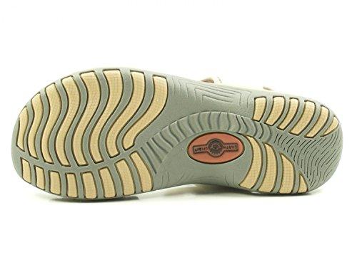 Chaussures Esprit Terre De Frisco Dames Trekking Sandales Blanc Blanc