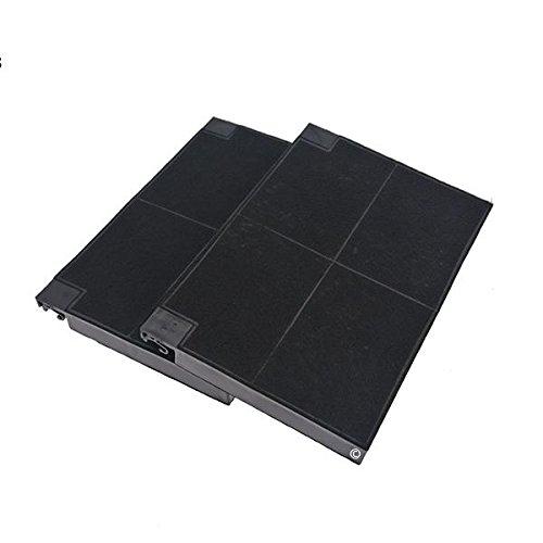 Lot 2 filtres charbons roblin 5403002 23cm x 15cm hotte roblin 5103003