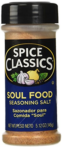 Spice Classics Soul Food Seasoning Salt, 5.12-oz. plastic shaker - Food Seasoning