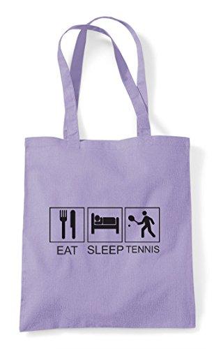 Tote Lavender Sleep Funny Tiles Shopper Hobby Tennis Bag Eat Activity 6Yagwcqaz