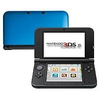 Nintendo 3DS XL - portable game consoles (640 x 480 pixels, Nintendo 3DS, Blue, LCD, 800 x 240 pixels, 802.11b, 802.11g)