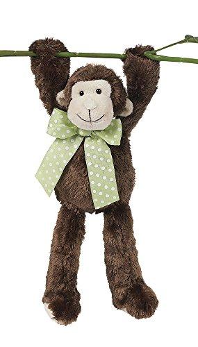 Bearington Lean Beans Mo Long Legged Monkey, Plush Stuffed Animal Toy (Monkey Stuffed Animal Collection)