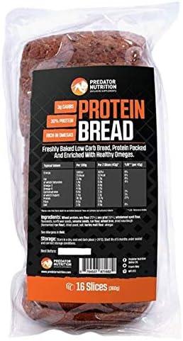 Predator Nutrition Pan de alto contenido en carbohidratos 100 ...