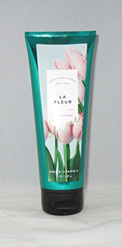 Fleur Collection - Bath and Body Works Ultra Shea Body Cream La Fleur 8 Ounce Spring 2017 Collection
