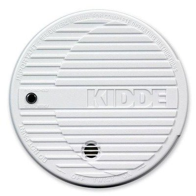 Kidde Fire and Safety Products – Smoke Alarm, Flashing LED, 9V Battery Included, White – Sold as 1 EA – Smoke alarm is easy to install. No wiring required. Features a quality design with flashing LED, test button and low-battery indicator. Battery operated (9V battery included). For Sale