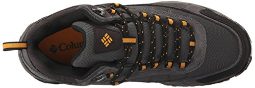 Columbia - Granite RidgeTM Mid Waterproof da uomo Dark Grey, Golden Yellow