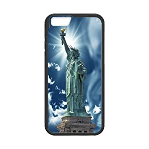 Generic Fashion iPhone 6 Case Custom The Statue of Liberty with Beautiful Sky Case for iPhone6 plus 5.5