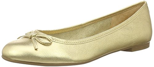 Mujer Dorado Leather para 2590 Bailarinas 01 16 Vegetal Ouro Zs London Buffalo zSxH88