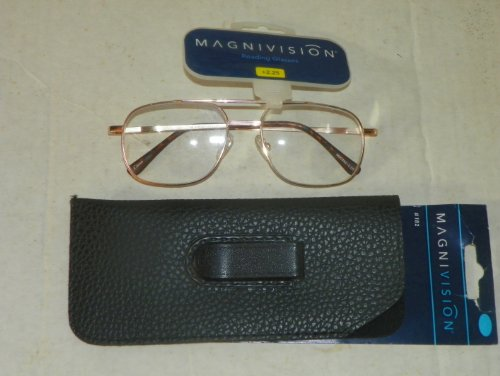 2.25 Magnivision Reading Glasses + Bonus Pocket Protector