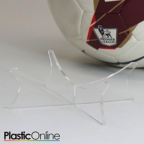 Acrylic Football Display Stand Perspex Riser Plinth Plastic Online Ltd