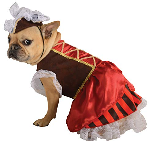 Rubie's Pet Costume, Large, Pirate Girl