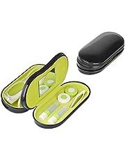 Balvi Twin Estuche para Gafas y lentillas con Espejo Incorporado