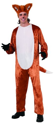 [What Does The Fox Say Fox Costume Adult (Headpiece Not Included) One Size] (Viral Video Costumes)