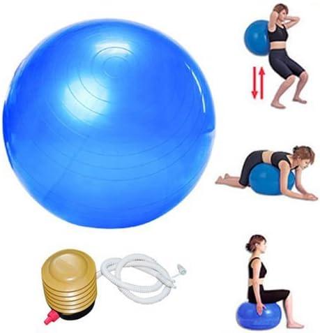FreshGadgetz Pelota de ejercicios de 65 cm para aeróbicos, yoga ...