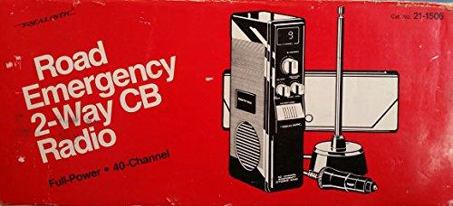 Realistic Road Emergency 2-Way CB Radio