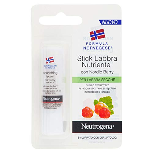 Neutrogena Norwegian Formula Nordic Berry Lip 4.8g – Lip Balm Lip Care –